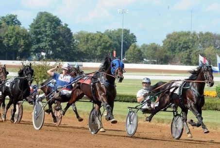 Courtesy Riina Rekila | EL Titan and Rekila winning at Red Mile.