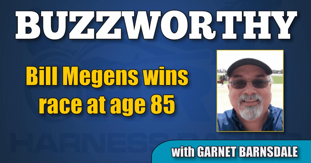 Bill Megens wins race at age 85