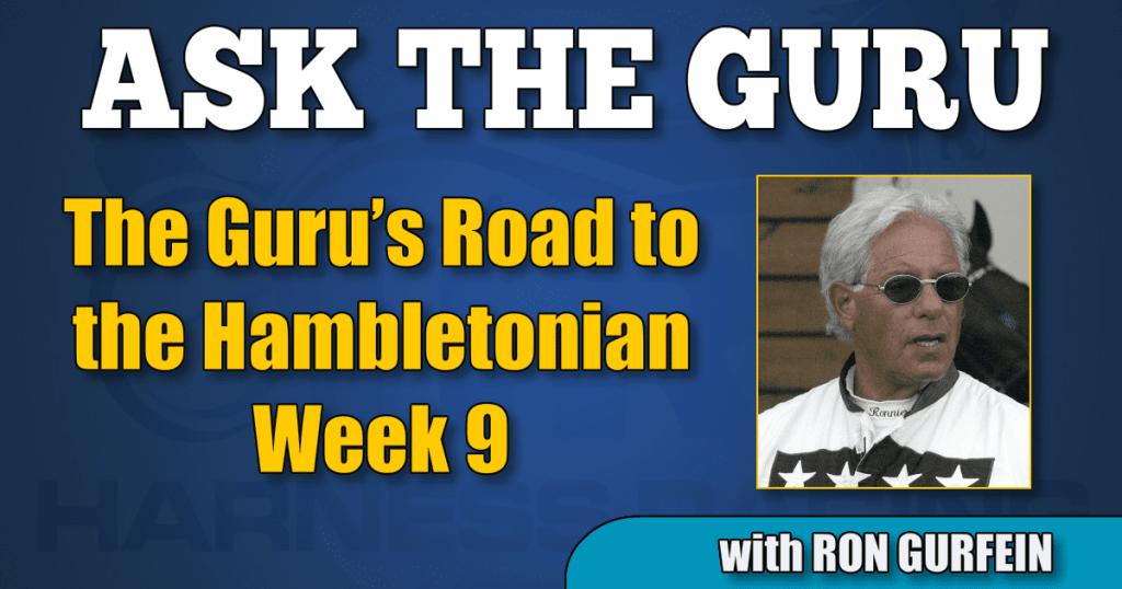 The Guru's Road to the Hambletonian – Week 9