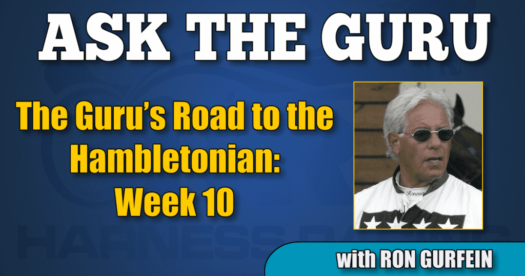 The Guru's Road to the Hambletonian – Week 10