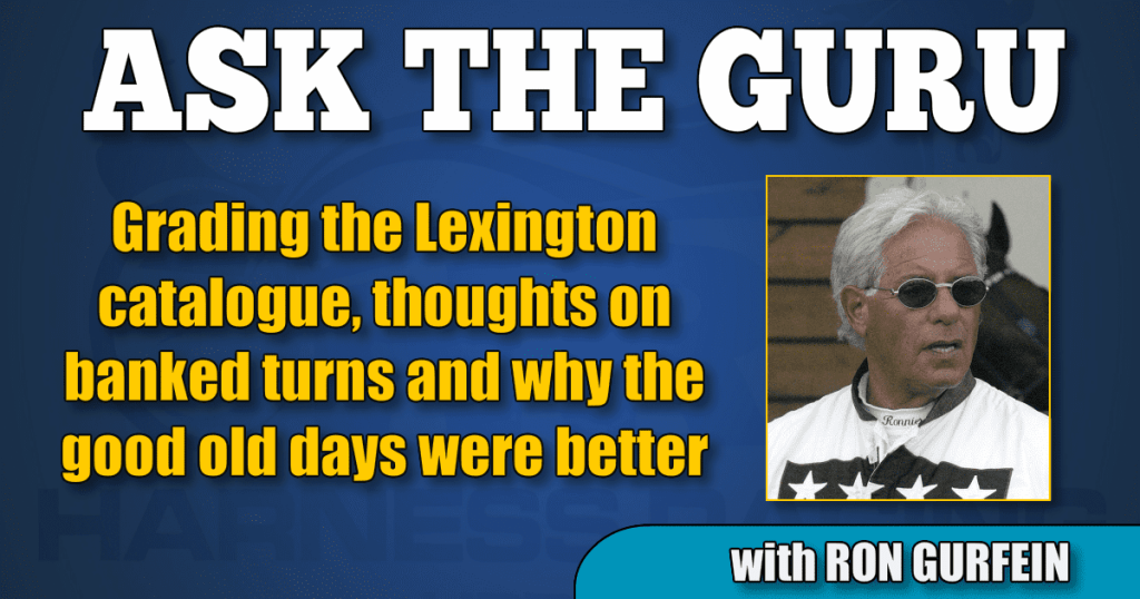 Grading the Lexington catalogue, thoughts on banked turns and why the good old days were better