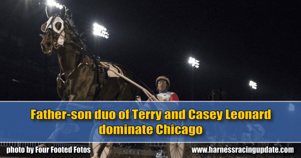Father-son duo of Terry and Casey Leonard dominate Chicago