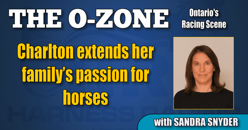 Charlton extends her family's passion for horses