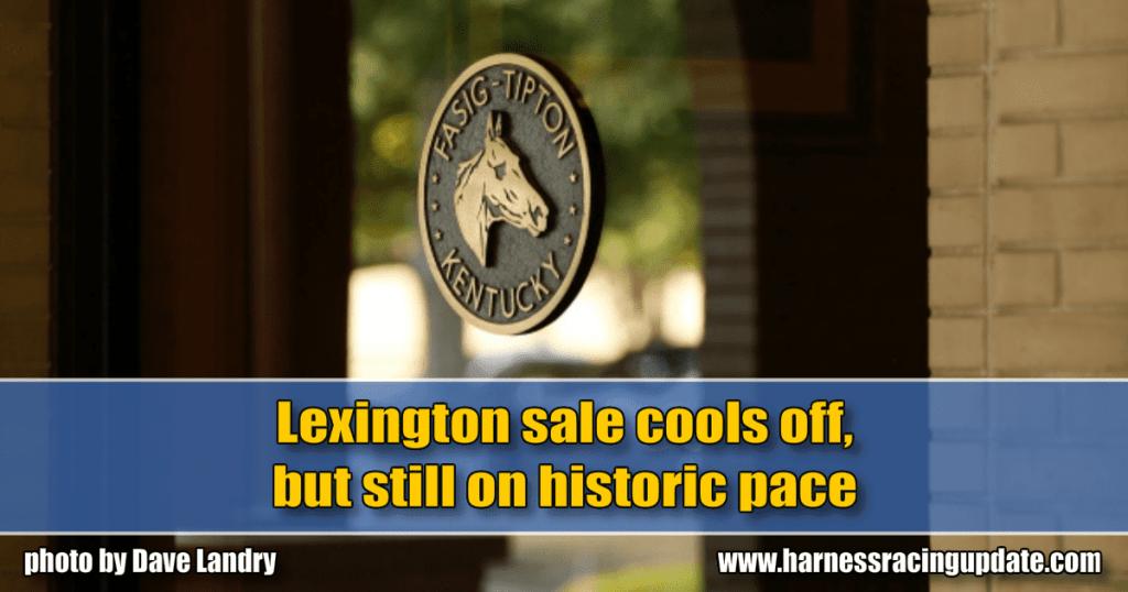 Lexington sale cools off, but still on historic pace