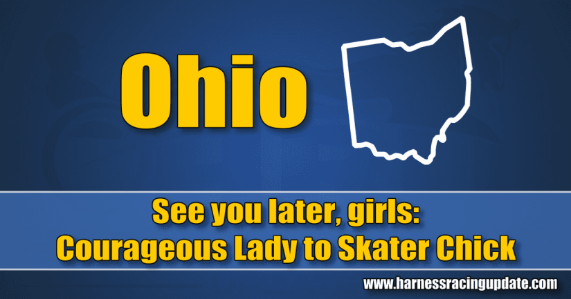 See you later, girls: Courageous Lady to Skater Chick