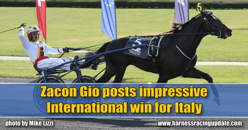 Zacon Gio posts impressive International win for Italy