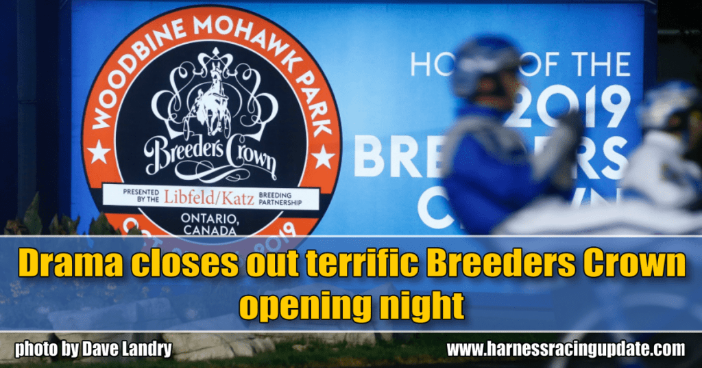 Drama closes out terrific Breeders Crown opening night