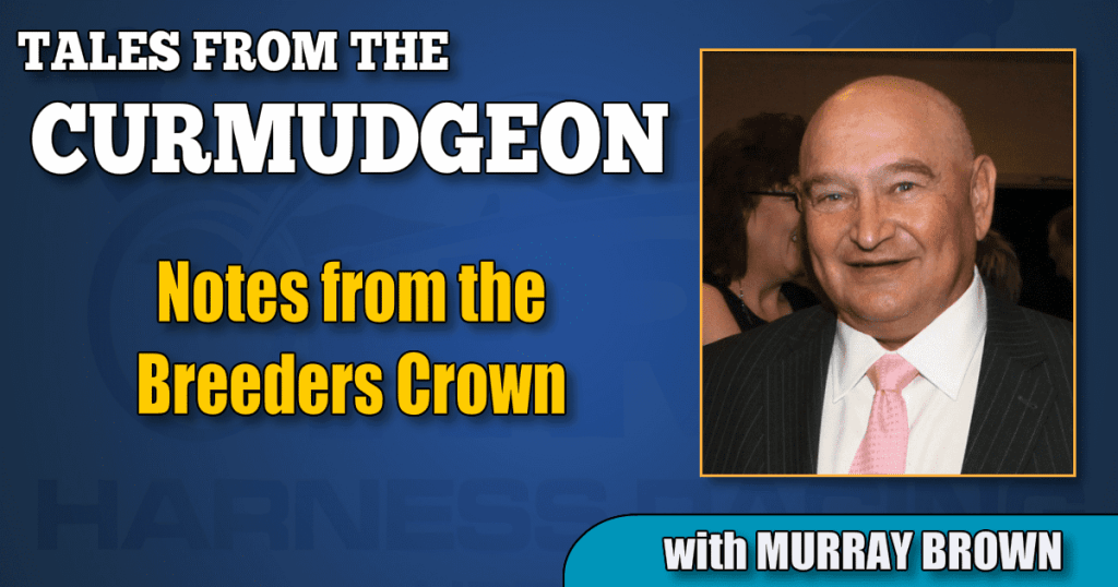 Notes from the Breeders Crown
