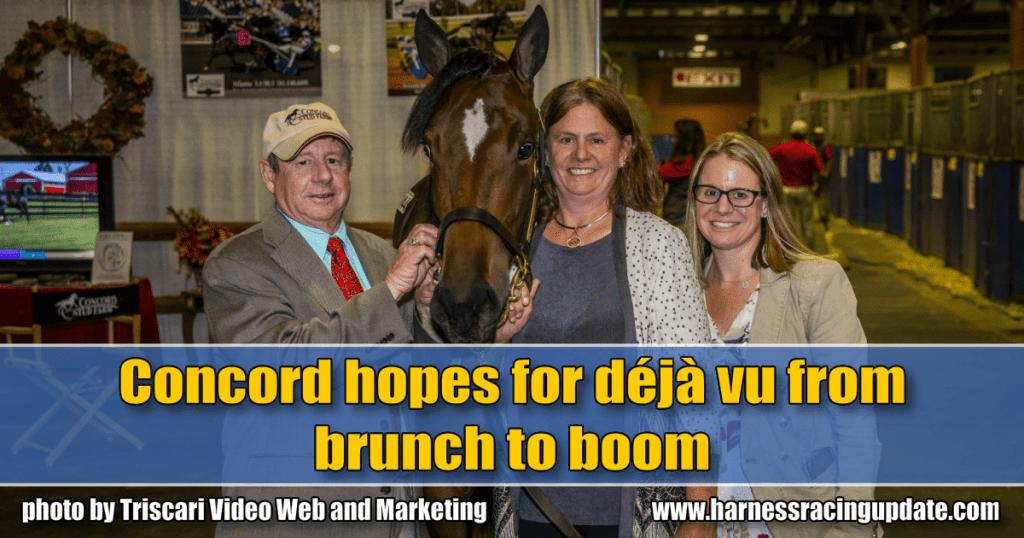 Concord hopes for déjà vu from brunch to boom