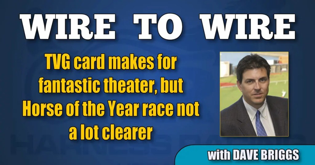 TVG card makes for fantastic theater, but Horse of the Year race not a lot clearer