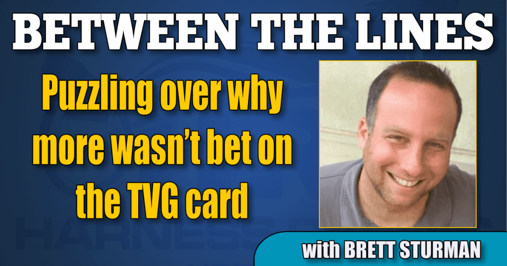 Puzzling over why more wasn't bet on the TVG card