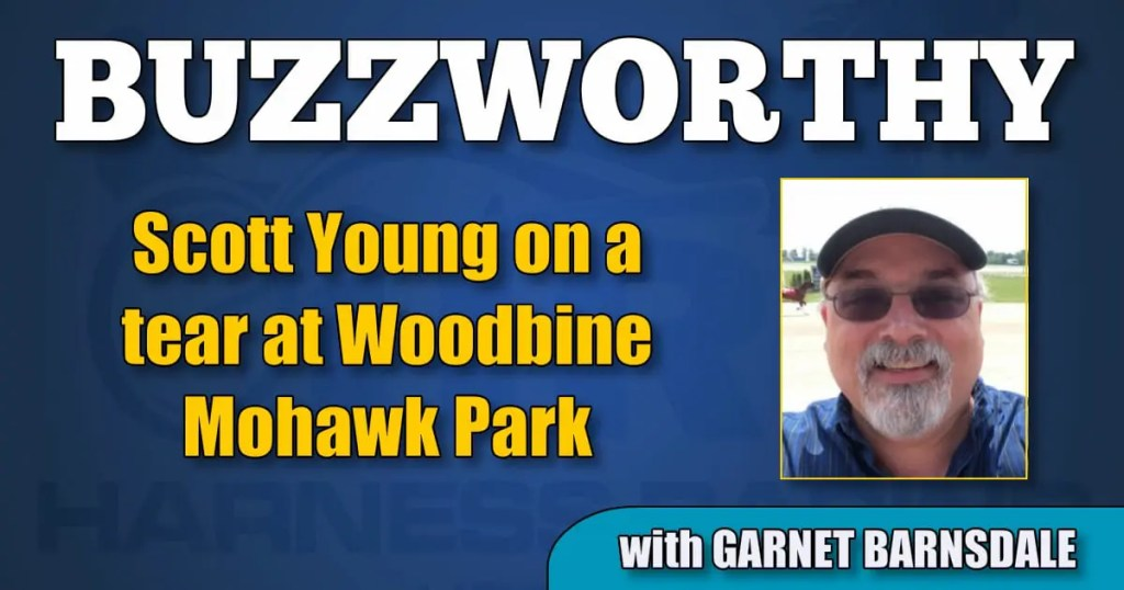 Scott Young on a tear at Woodbine Mohawk Park