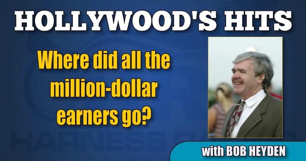Where did all the million-dollar earners go?