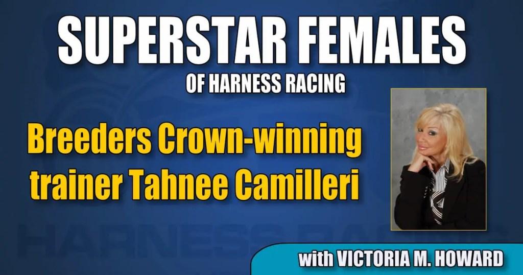 Breeders Crown-winning trainer Tahnee Camilleri
