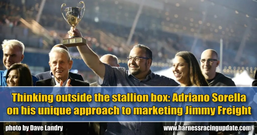 Thinking outside the stallion box: Adriano Sorella on his unique approach to marketing Jimmy Freight