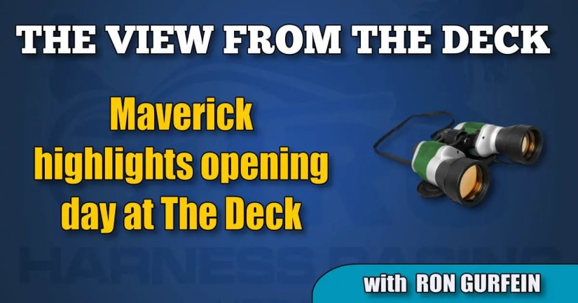Maverick highlights opening day at The Deck