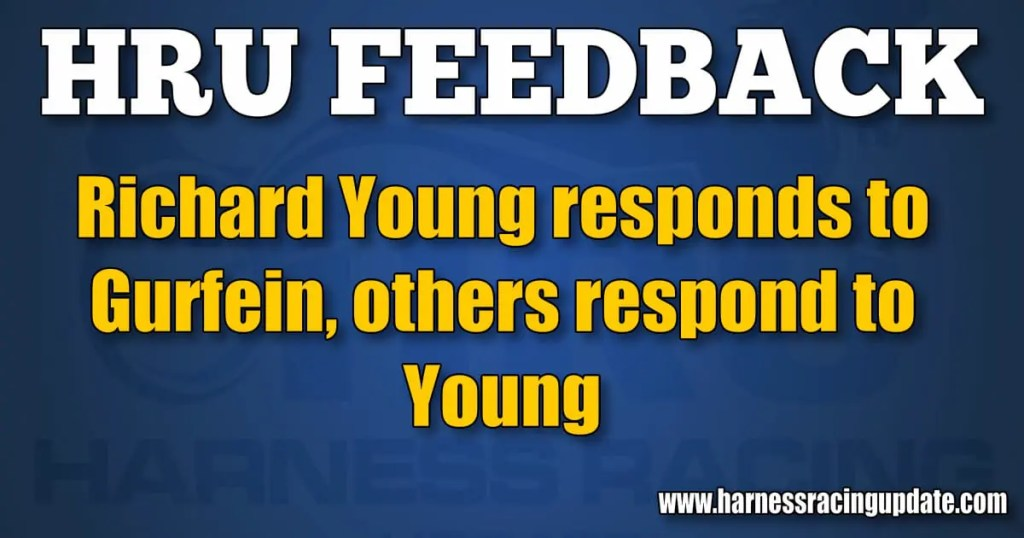 Richard Young responds to Gurfein, others respond to Young
