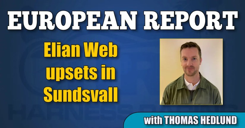 Elian Web upsets in Sundsvall