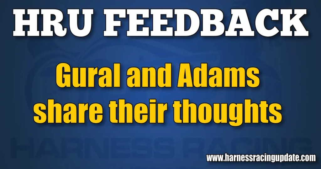 Gural and Adams share their thoughts