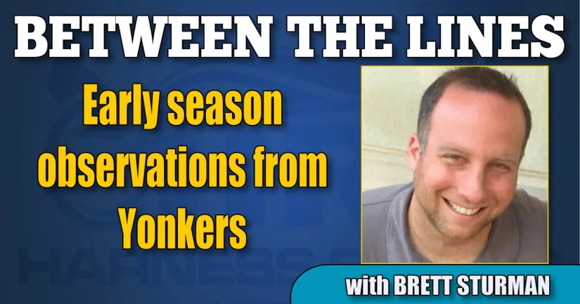 Early season observations from Yonkers