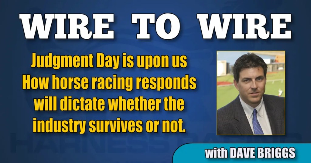 How horse racing responds will dictate whether the industry survives or not.