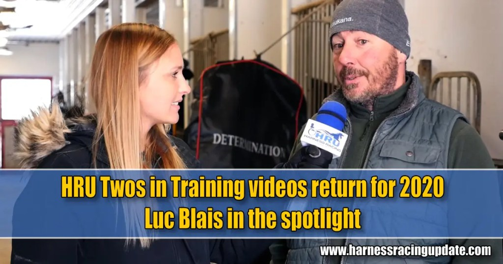 HRU Twos in Training videos return for 2020 Luc Blais in the spotlight