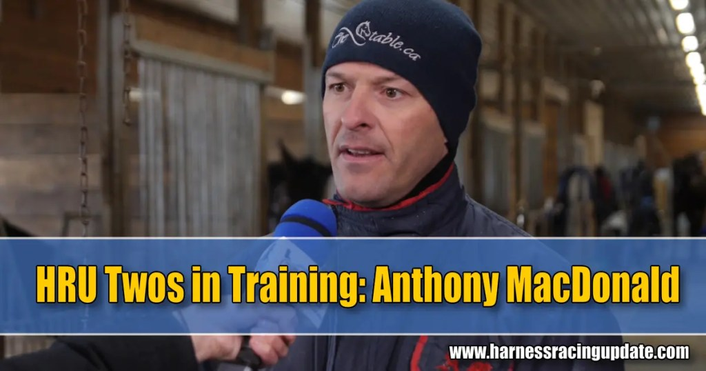 HRU Twos in Training video — Anthony MacDonald in the spotlight