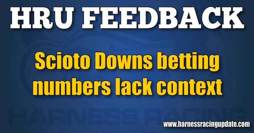 Scioto Downs betting numbers lack context
