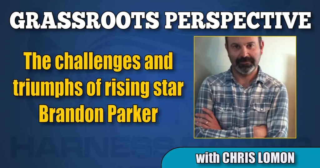 The challenges and triumphs of rising star Brandon Parker