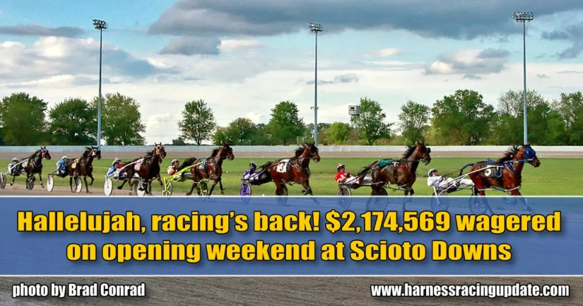 $2,174,569 wagered on opening weekend at Scioto Downs