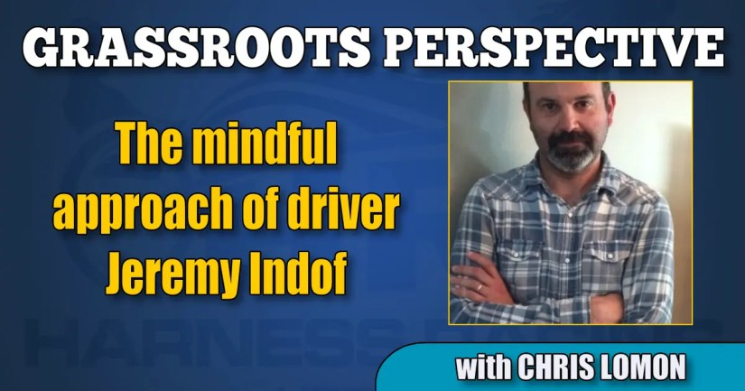 The mindful approach of driver Jeremy Indof