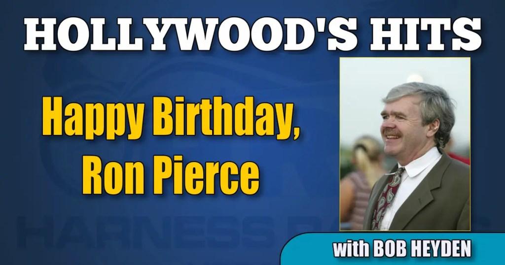 Happy Birthday, Ron Pierce