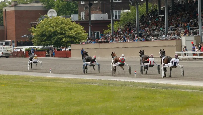 Dave Landry | Racing at Goshen Historic Track on Hall of Fame weekend.