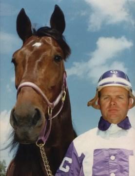 USTA   Niatross and trainer/driver Clint Galbraith.