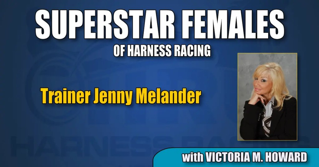 Trainer Jenny Melander