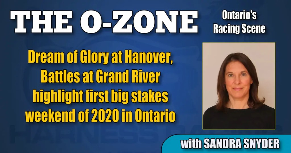 Dream of Glory at Hanover, Battles at Grand River highlight first big stakes weekend of 2020 in Ontario