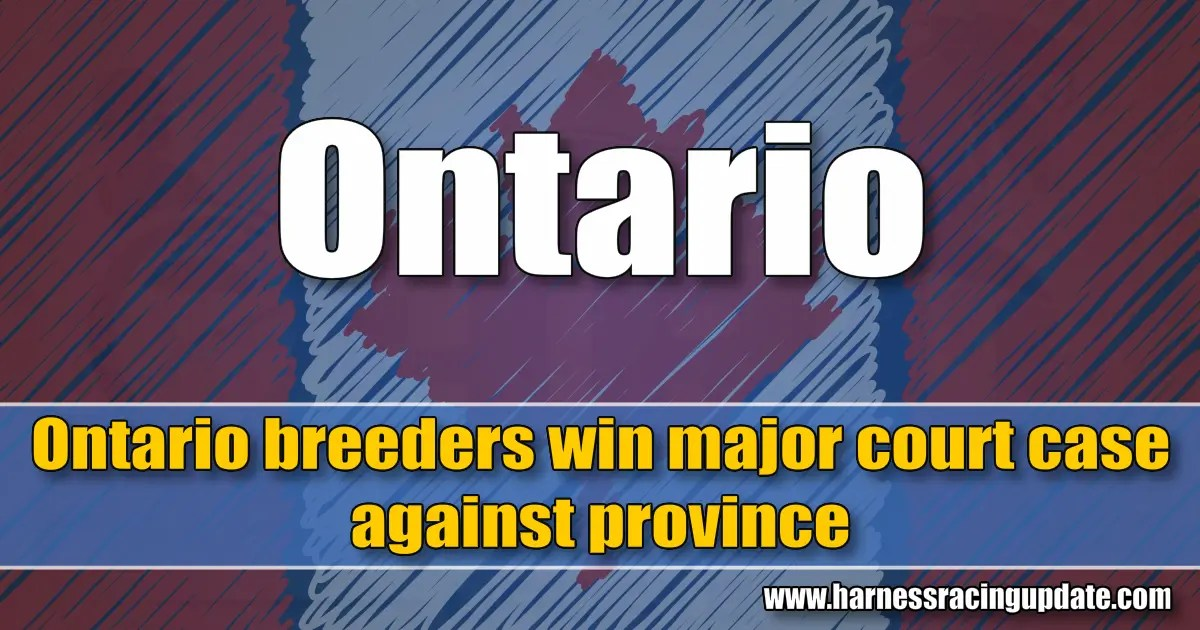 Ontario breeders win major court case against province