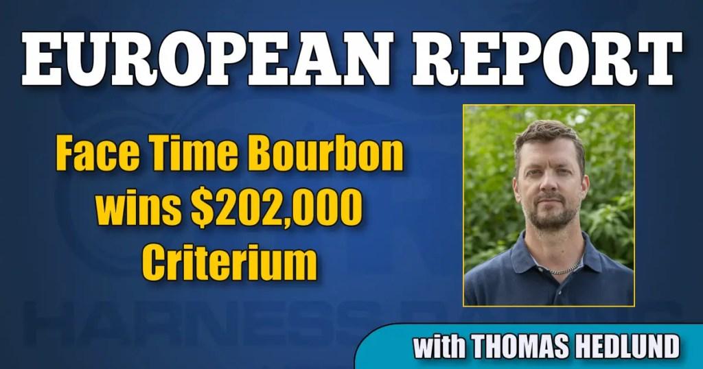 Face Time Bourbon wins $202,000 Criterium