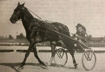 Guy McKinney won the inaugural Hambletonian in 1926 at the New York State Fair in Syracuse.