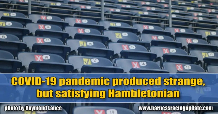 COVID-19 pandemic produced strange, but satisfying Hambletonian