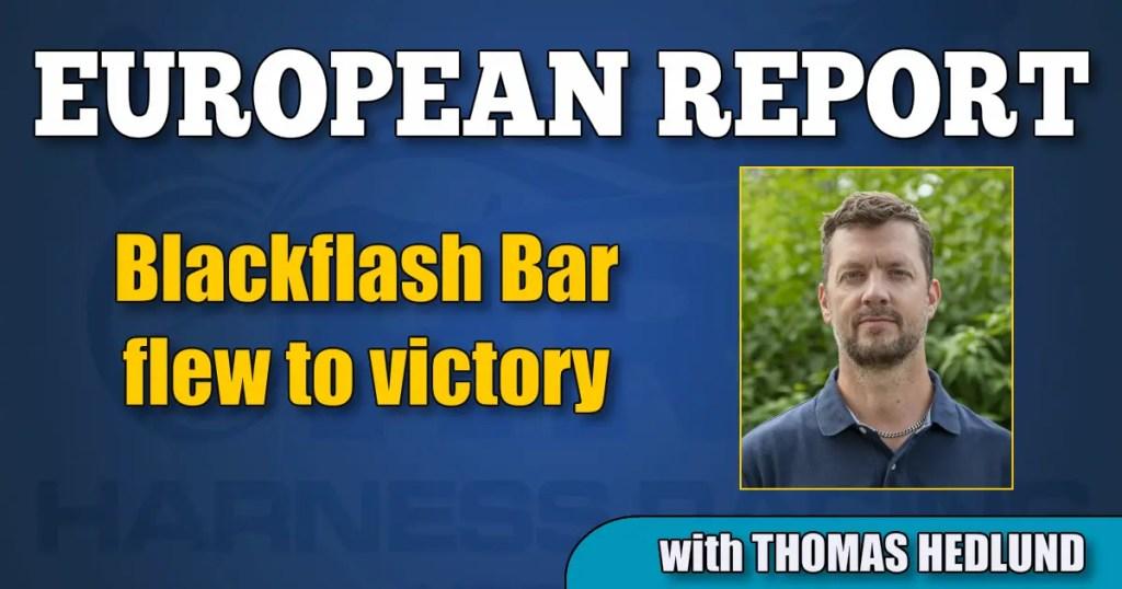 Blackflash Bar flew to victory