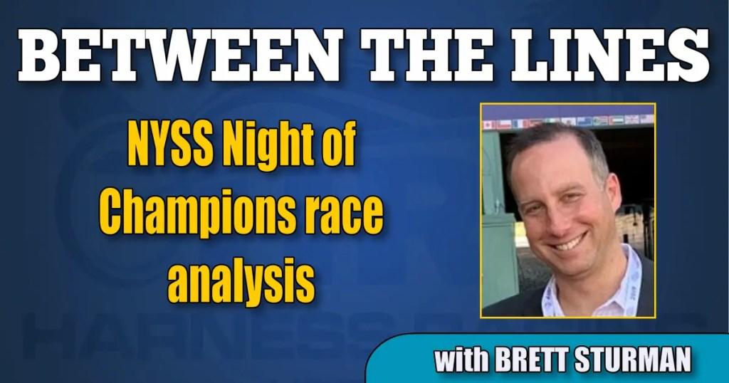 NYSS Night of Champions race analysis