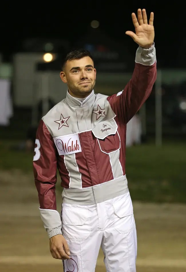 Claus Andersen | One day after celebrating his 27th birthday, driver Joe Bongiorno crafted a perfect winning trip in the 75th Little Brown Jug with Captain Barbossa.