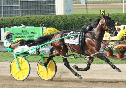 Brad Conrad | Catch The Fire (Mike Wilder) won the first Jug elimination in 1:49.3.