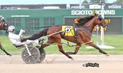 Brad Conrad | Penpaperpaige (Tyler Smith) won the 3-year-old filly pace in 1:52.1