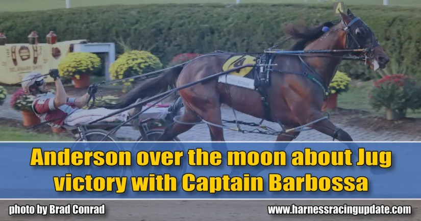 Anderson over the moon about Jug victory with Captain Barbossa