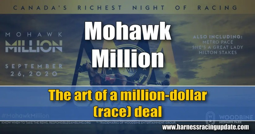 The art of a million-dollar (race) deal