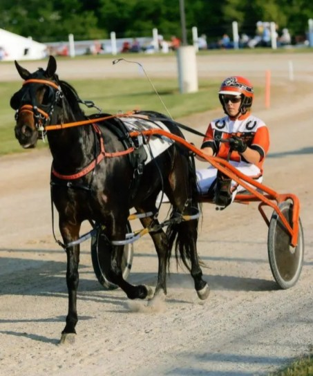 Courtesy Miller family   The late Amy Miller racing on the Indiana pony racing circuit.