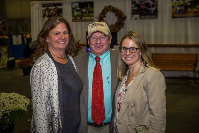 Triscari Video Web and Marketing | Concord Stud's Robin Meirs, David Meirs III and Julie Meirs are selling some yearlings in Lexington for the first time.