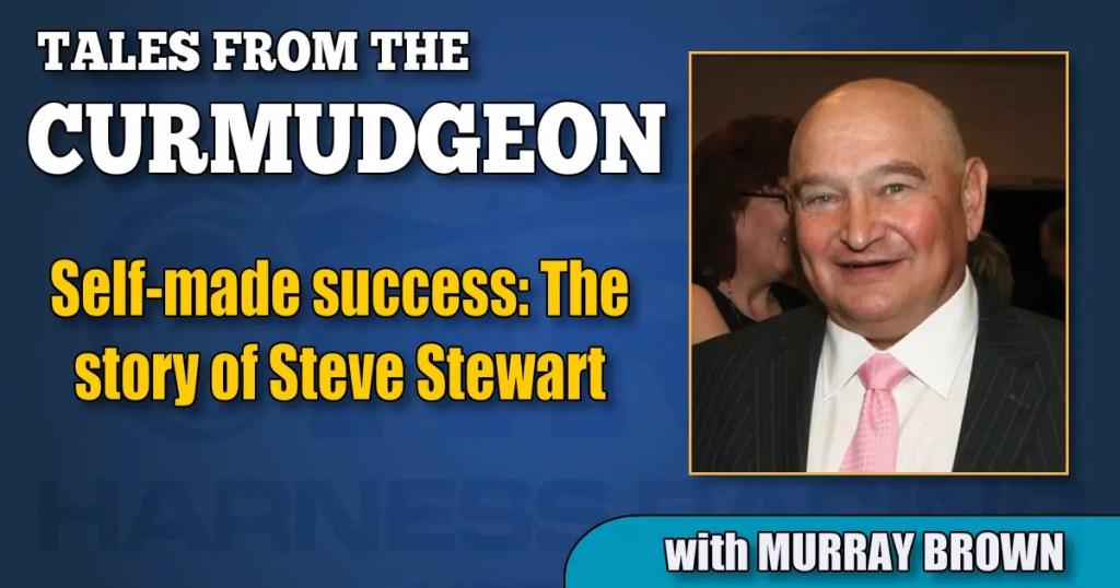Self-made success: The story of Steve Stewart